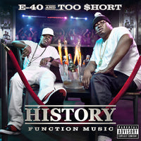E-40 / TOO SHORT - HISTORY: FUNCTION MUSIC - CD New