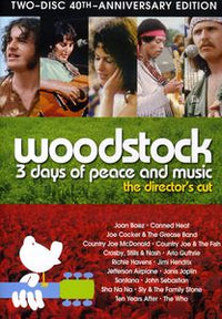 VARIOUS - WOODSTOCK: THREE DAYS OF PEACE & MUSIC - Video DVD