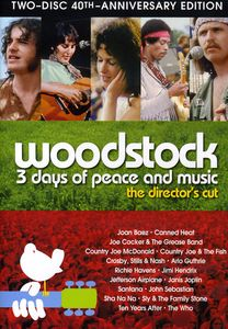 VARIOUS - WOODSTOCK: THREE DAYS OF PEACE & MUSIC