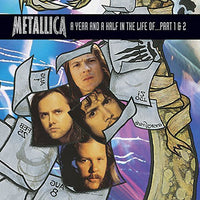 METALLICA - YEAR & A HALF IN THE LIFE OF METALLICA P