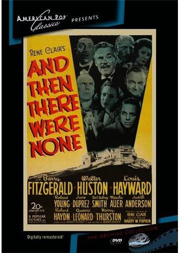 & THEN THERE WERE NONE - & THEN THERE WERE NONE - Video DVD