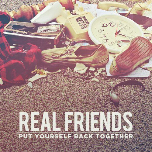 REAL FRIENDS - PUT YOURSELF BACK TOGETHER - CD New