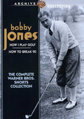 BOBBY JONES: THE COMPLETE WARNER BROS SH - BOBBY JONES: THE COMPLETE WARNER BROS SH - Video DVD