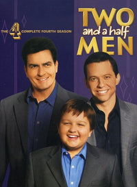 TWO & A HALF MEN: COMPLETE FOURTH SEASON - TWO & A HALF MEN: COMPLETE FOURTH SEASON (DVD)