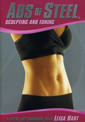 ABS OF STEEL: SCULPTING & TONING - ABS OF STEEL: SCULPTING & TONING (DVD) - Video DVD