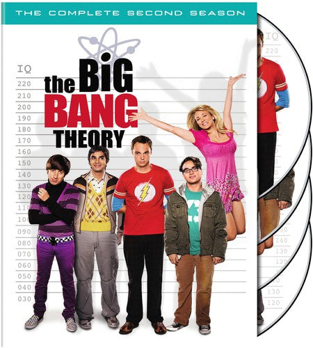 BIG BANG THEORY: COMPLETE SECOND SEASON - BIG BANG THEORY: COMPLETE SECOND SEASON (DVD) - Video DVD