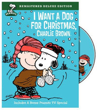 I WANT A DOG FOR CHRISTMAS CHARLIE BROWN - I WANT A DOG FOR CHRISTMAS CHARLIE BROWN (DVD) - Video DVD