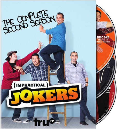 IMPRACTICAL JOKERS: THE COMPLETE SECOND - IMPRACTICAL JOKERS: THE COMPLETE SECOND (DVD)