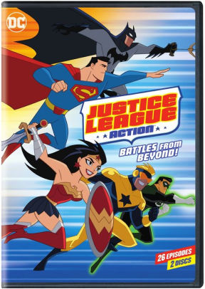JUSTICE LEAGUE: ACTION SEASON 1 PART 2 - JUSTICE LEAGUE: ACTION SEASON 1 PART 2