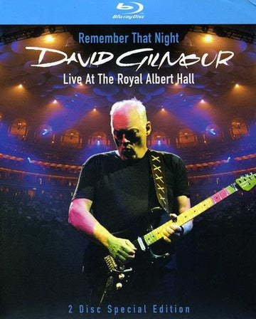 GILMOUR, DAVID - REMEMBER THAT NIGHT: LIVE AT THE ROYAL A (Blu Ray)
