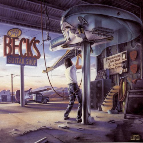 BECK, JEFF - JEFF BECK'S GUITAR SHOP WITH T (CD)