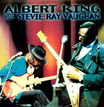 ALBERT KING - IN SESSIONS WITH STEVE RAY VAUGHAN - Video DVD