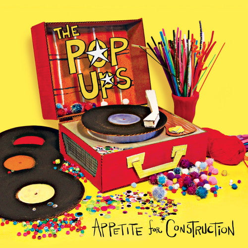 POP UPS - APPETITE FOR CONSTRUCTION - CD New