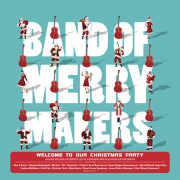 BAND OF MERRYMAKERS - WELCOME TO OUR CHRISTMAS PARTY - CD New