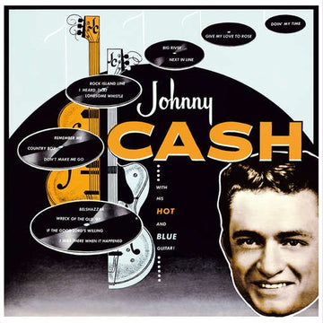 JOHNNY CASH - WITH HIS HOT & BLUE GUITAR - Vinyl New