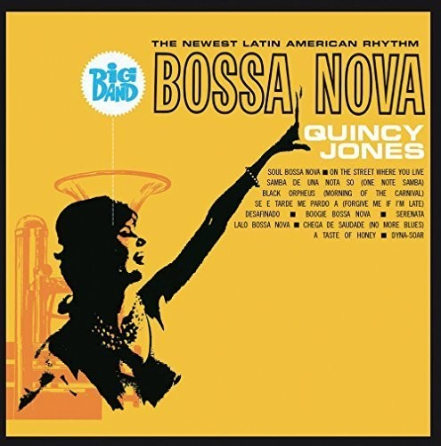 JONES, QUINCY - BIG BAND BOSSA NOVA (CD) - CD New