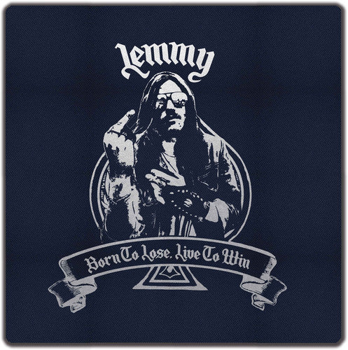 LEMMY - BORN TO LOSE LIVE TO WIN - CLOTH BAG