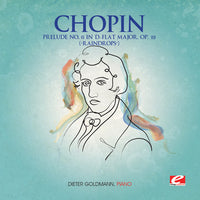 CHOPIN - PRELUDE 15 D-FLAT MAJOR OP 28 / RAINDROP - CD New Single