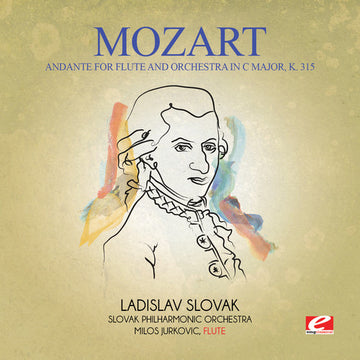 MOZART - ANDANTE FOR FLUTE & ORCHESTRA IN C MAJOR - CD New Single