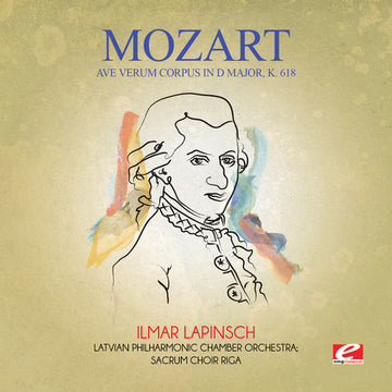 MOZART - AVE VERUM CORPUS IN D MAJOR K. 618 - CD New Single