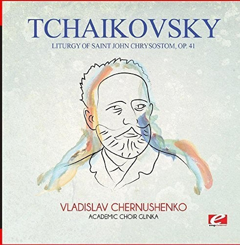TCHAIKOVSKY - LITURGY OF SAINT JOHN CHRYSOSTOM OP. 41 (CD)
