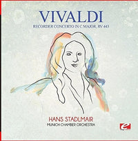 VIVALDI - RECORDER CONCERTO IN C MAJOR RV 443 (CD)