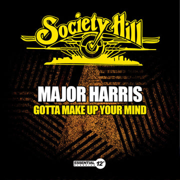 MAJOR HARRIS - GOTTA MAKE UP YOUR MIND - CD New Single