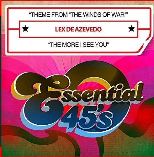 DE AZEVEDO, LEX - THEME FROM THE WINDS OF WAR / THE MORE I (CD) - CD New