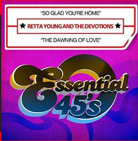 YOUNG, RETTA & THE DEVOTIONS - SO GLAD YOU'RE HOME / THE DAWNING OF LOV (CD) - CD New