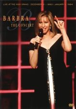 BARBRA STREISAND - CONCERT, THE - LIVE AT THE MGM GRAND 31 DEC 1993 - 1 JAN 1994 - Video Used DVD