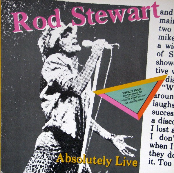STEWART, ROD - ABSOLUTELY LIVE (CD) - CD New