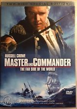 RUSSELL CROWE - MASTER & COMMANDER - FAR SIDE OF THE WORLD [ 2DVD] - Video Used DVD