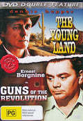MOVIE DVD - YOUNG LAND / GUNS OF THE REVOLUTION- - Video Used DVD
