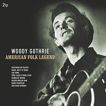 GUTHRIE, WOODY - AMERICAN FOLK LEGEND (Vinyl LP)