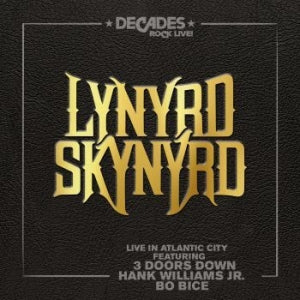 LYNYRD SKYNYRD - LIVE IN ATLANTIC CITY - Vinyl New