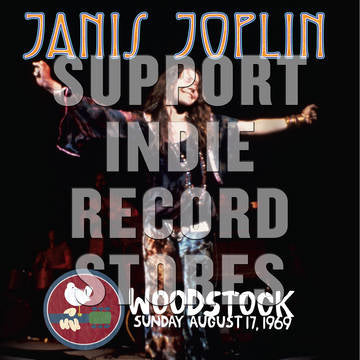 Janis Joplin - Woodstock Sunday August 17, 1969 [2LP] (download, first time on vinyl, limited to 3300, indie exclusive) RSD 2019