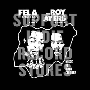 Fela Kuti and Roy Ayers - Music Of Many Colours [LP] (Rainbow Starburst Vinyl, download, limited to 2000, indie exclusive) RSD 2019