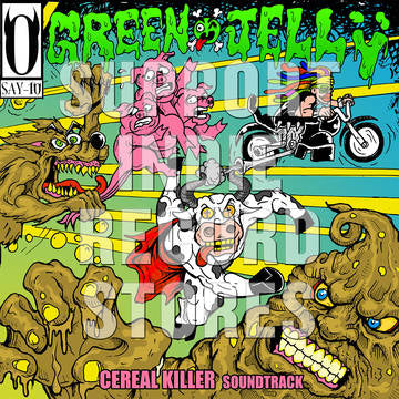 Green Jelly - Cereal Killer Soundtrack [LP] (Clear w/Glow-In-The-Dark Splatter Vinyl, first time reissued, includes hit ''Three Little Pigs'', gatefold, limited to 1500, indie-retail exclusive) RSD 2019