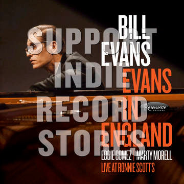 Bill Evans - Evans In England: Live At Ronnie Scott's [2LP] (180 Gram, liner note insert with rare photos, limited to 2000, indie exclusive) RSD 2019