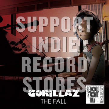 Gorillaz - The Fall [LP] (Forest Green Vinyl, first time on vinyl in North America, limited to 5000, indie exclusive) RSD 2019