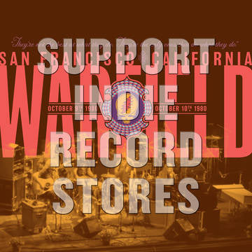 Grateful Dead - The Warfield, San Francisco, CA 10/9/80 [2LP] (limited to 6500, indie exclusive) RSD 2019