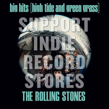 Rolling Stones, The - Big Hits (High Tide And Green Grass) (UK) [LP] (180 Gram, Green Vinyl, full-color photo insert, limited to 7000, indie exclusive) RSD 2019