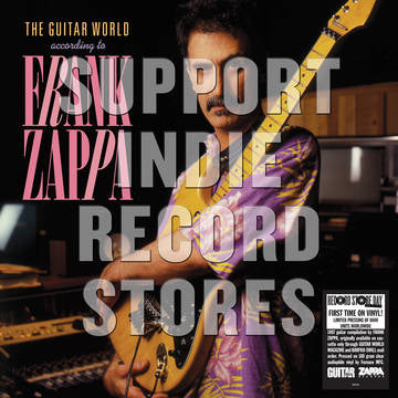 Frank Zappa - The Guitar World According To Frank Zappa [LP] (180 Gram, Clear Vinyl, first time on vinyl, limited to 4000, indie exclusive) RSD 2019