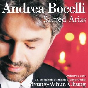 ANDREA BOCELLI - SACRED ARIAS - CD New