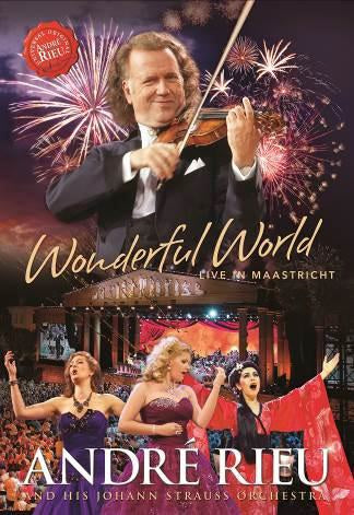 ANDRE RIEU - WONDERFUL WORLD - LIVE IN MAASTRICHT - Video DVD