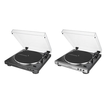 AUDIO TECHINCA - LP60 X USB Belt Driven USB Turntable (Bl (Turntables) - Other Equipment