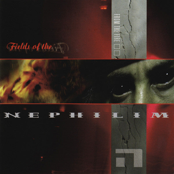FIELDS OF THE NEPHILIM - FROM THE FIRE/LIVE LAURA/LOVE. - CD New Single