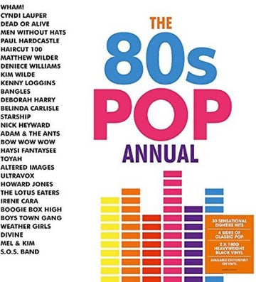 VARIOUS - 80S POP ANNUAL - Vinyl New