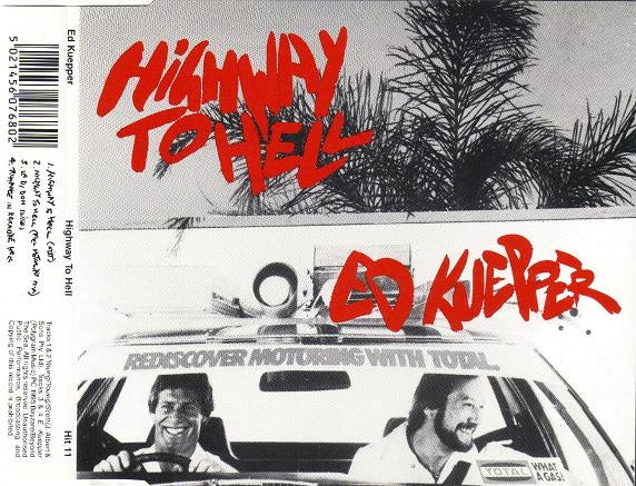 ED KUEPPER - HIGHWAY TO HELL - CD Used Single