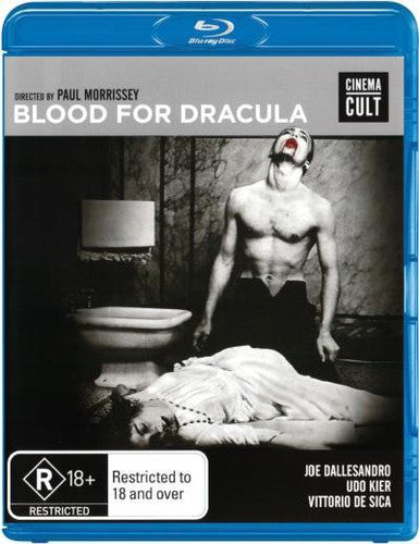 BLOOD FOR DRACULA - BLOOD FOR DRACULA - Video BluRay